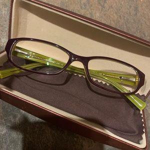 Seventeen Accessories - Seventeen EyeGlasses in Purple Lime
